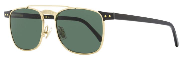 Jimmy Choo Rectangular Sunglasses Alan/S 807QT Black/Gold 54mm