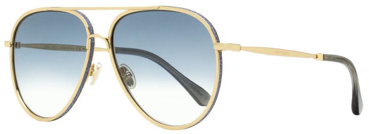 Jimmy Choo Aviator Sunglasses Triny/S LKS08 Gold/Gray 59mm