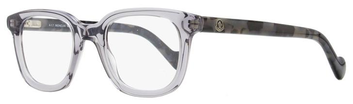 Moncler Rectangular Eyeglasses ML5003 020 Transparent/Gray Havana 50mm 5003