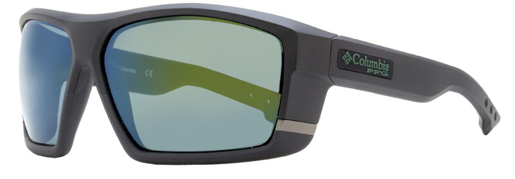 Columbia Baitcaster Sunglasses C509SP 002 Matte Black Polarized 64mm PFG