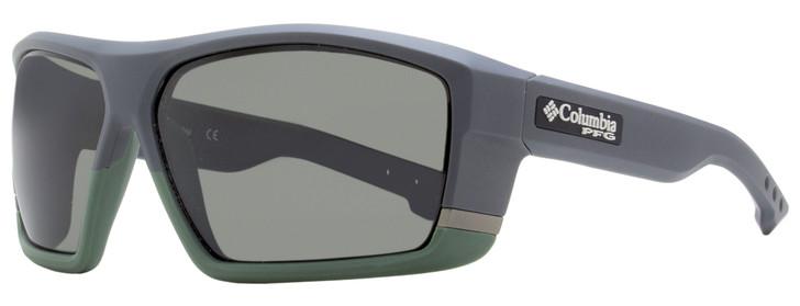 Columbia Baitcaster Sunglasses C509SP 025 Matte Shark Gray Polarized 64mm PFG
