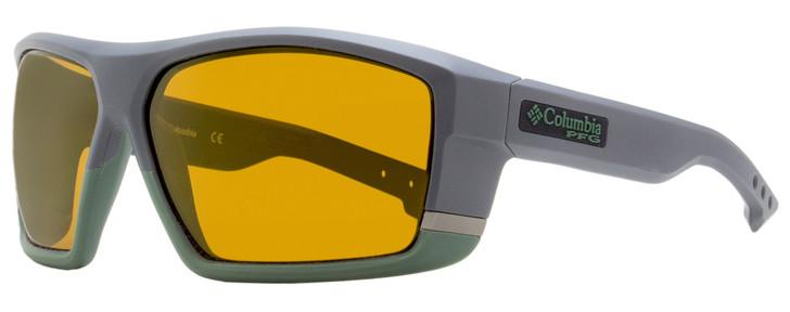 Columbia Baitcaster Sunglasses C509SP 026 Matte Shark Gray Polarized 64mm PFG