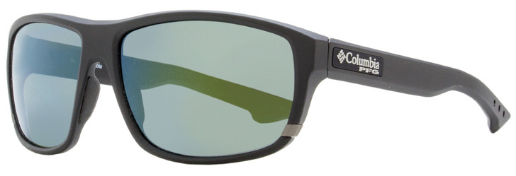 Columbia Airgill Lite Sunglasses C510SP 002 Matte Black Polarized 60mm PFG