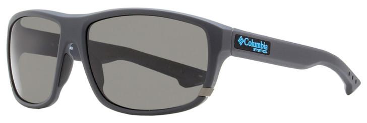 Columbia Airgill Lite Sunglasses C510SP 025 Matte Shark Gray Polarized 60mm PFG