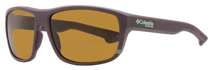 Columbia Airgill Lite Sunglasses C510SP 223 Matte Brown Polarized 60mm PFG