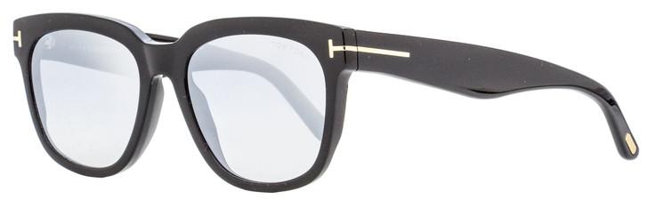 Tom Ford Rectangular Sunglasses TF714 Rhett 01C Black 55mm FT0714