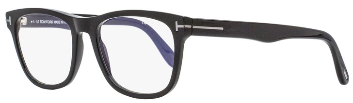 Tom Ford Blue Block Eyeglasses TF5662BN 001 Black 54mm FT5662
