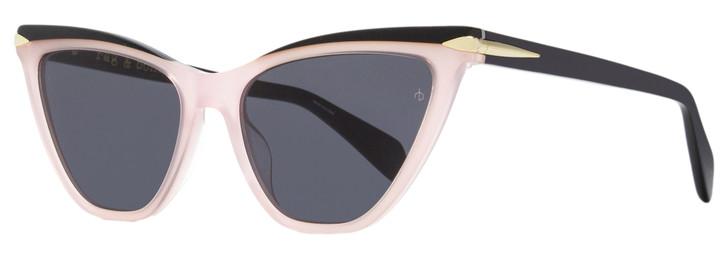 Rag & Bone Cateye Sunglasses RNB1021S 35JIR Pink /Black 55mm 1021