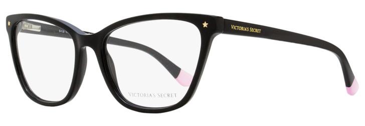 Victoria's Secret Rectangular Eyeglasses VS5040 001 Black 54mm 5040