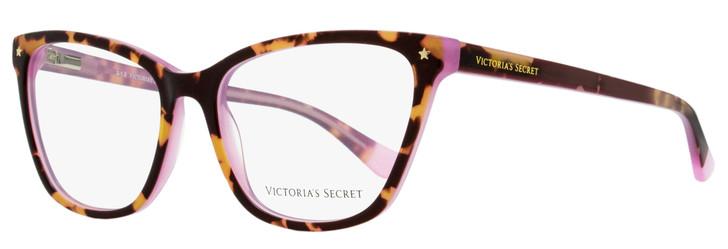 Victoria's Secret Rectangular Eyeglasses VS5040 056 Havana/Pink 54mm 5040