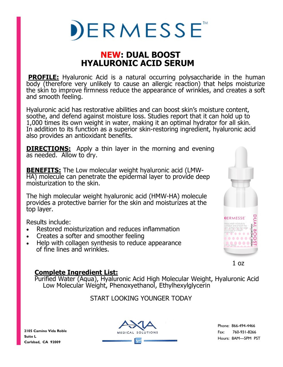 DUAL BOOST: Hyaluronic Serum