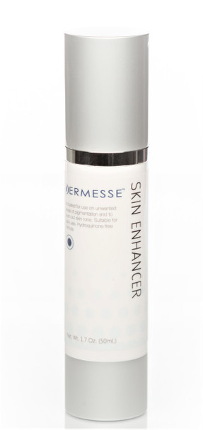 This formula uses natural biochemical enzyme inhibitors, Rumex, alpha - Arbutin and Kojic Acid to give a faster acting formula and a more shelf stable and safe product.     Benefits: This Fortified Skin Enhancer with ingredients that address all stages of melanin synthesis (Before, During, After) is much more effective and it will remain white in color and potent.