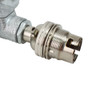 20mm Conduit Stop end with 10mm hole & allthread [PLU82075]
