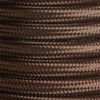Dark Brown Round Fabric Cable 3Core 2166355