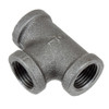 20.9mm BSPT T Section Malleable Iron Black [2726040]