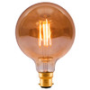 4W Led Vintage 80MM Globe Amber BC [01463] | Lampspares.co.uk