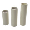 Plain Ivory Candle Tube Cover 24 x 100mm [3037288]
