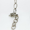 Steel Nickel Plated Decorative Gothic Chain [3264436]