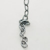 """Welded Oval Lighting Chain Steel Chrome Plated 5/8"""" [3257806]"""