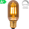 4w LED ES Tubular Amber Dimmable [3466185] | Lampspares.co.uk