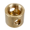 Brass 10mm Tube Connector 4 way 3911267