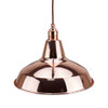 Copper Light Shade 305mm Diameter With 40mm Hole 3981580 | Lampspares.co.uk