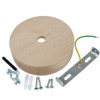 Wooden Ceiling Rose Kit For XL Cable 4107711