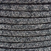 Anthracite Natural Linen Round Fabric Cable 3 Core 4200454