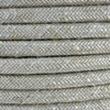 Natural Neutral Linen Round Fabric Cable 3 Core 4200456