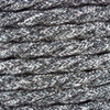 Anthracite Natural Linen Twisted Fabric Cable 3 Core 4200453 | Lampspares.co.uk