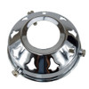 """Chrome 2 1/4"""" Gallery with 28mm hole 4182650 