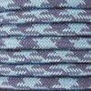 Blue and Grey Round Houndstooth 3 Core Fabric Cotton Cable 4545796 | Lampspares.co.uk