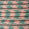 Pink and Grey Round Houndstooth 3 Core Fabric Cotton Cable 4545795
