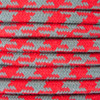 Red and Grey Round Houndstooth 3 Core Fabric Cotton Cable 4545793 | Lampspares.co.uk