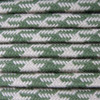 Green and Dove Round Houndstooth 3 Core Fabric Cotton Cable 4545792 | Lampspares.co.uk