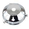 """Chrome 2 1/4"""" Gallery With 10mm Hole 4631052"""