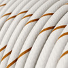 HD Beer Foam Round Fabric Cable 3 Core 4774534 | Lampspares.co.uk