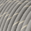 Eggnog Linen and Cotton Round Fabric Cable 3 Core 4774511