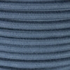Steel Blue Round Cotton Fabric Cable 3 Core 4987377 | Lampspares.co.uk