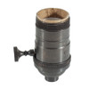 """E26 Bronze Threaded Switched Lampholder With 1/8"""" IP Thread 5005074"""