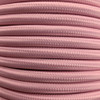 Pastel Pink 3 Core Round Fabric Cable 6411769