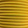 Pastel Yellow 3 Core Round Fabric Cable 6411770