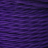 Purple 3 Core Twisted Fabric Cable 6488159