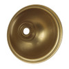 Brass 80mm cup with 10mm hole 7557949