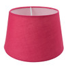 Drum Shade 25cm Tapered Hot Pink