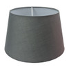 Drum Shade 25cm Tapered Charcoal Grey
