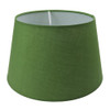 Drum Shade 25cm Tapered Olive Green