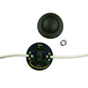 In Line Black Foot Switch For Standard Lamps [22570 PLU61183]