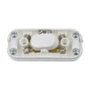 Double Pole 2A In Line Switch in White [028380 PLU36311]