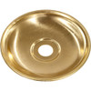 60mm Brass Plate With 10mm Hole PLU6820